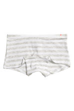 3-pack boxer briefs - Grey marl - Kids | H&M CN 2