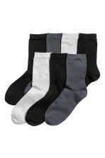 7-pack socks - Dark grey - Kids | H&M 1