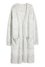 長版開襟衫 - Light grey marl -  | H&M 2