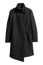 Cappotto con incrocio - Nero - DONNA | H&M IT 3