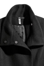 Cappotto con incrocio - Nero - DONNA | H&M IT 4
