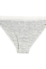 3-pack bikini briefs - Grey marl - Ladies | H&M CN 3