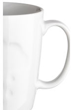 Porcelain mug - White/Cloud - Home All | H&M CA 2