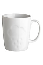 Porcelain mug - White/Cloud - Home All | H&M CA 1