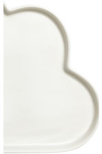 Cloud-shaped porcelain plate - White - Home All | H&M CA 3