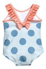 Swimsuit with frills - Light blue/Spotted - Kids | H&M 2