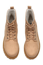 Pile-lined boots - Beige - Ladies | H&M 2