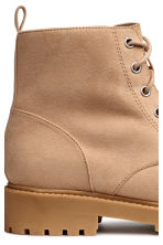 Pile-lined boots - Beige - Ladies | H&M 4