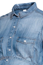 MAMA Lyocell denim blouse - Denim blue - Ladies | H&M 3