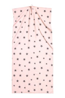 Star-print bath towel