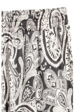 Jersey trousers - Dark grey/Paisley - Ladies | H&M CN 3
