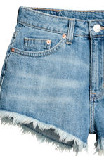 Short denim shorts - Denim blue - Ladies | H&M CA 4
