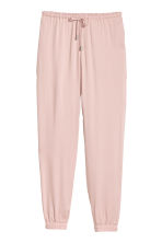 Pull-on trousers - Powder pink - Ladies | H&M CN 2