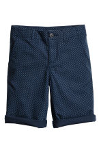 Chino shorts - Dark blue - Kids | H&M 2