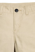 Chino shorts - Light beige - Kids | H&M 3