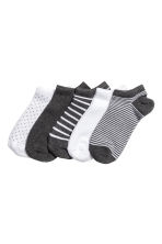 5雙入運動襪 - Dark grey/Striped - Ladies | H&M 2