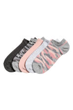 5-pack trainer socks - Grey - Ladies | H&M CN 1