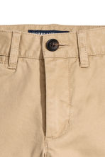 Slim fit Chinos - Beige - Kids | H&M 3