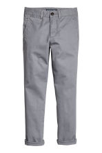 Slim fit Chinos - Grey - Kids | H&M 2