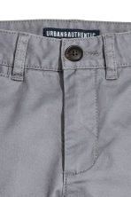 Slim fit Chinos - Grey - Kids | H&M 4
