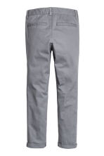 Slim fit Chinos - Grey - Kids | H&M 3