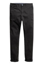 Chino Slim fit - Noir - ENFANT | H&M FR 2