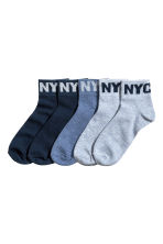 5-pack sports socks - Dark blue -  | H&M 1