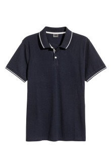 Premium cotton piqué shirt