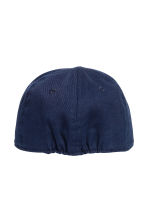 Cotton cap with embroidery - Dark blue - Kids | H&M CA 2