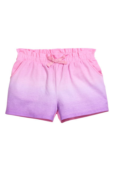 Jersey shorts - Pink/Purple - Kids | H&M 1