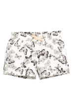 Jersey shorts - White/Butterflies - Kids | H&M 2