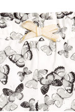 Jersey shorts - White/Butterflies - Kids | H&M 3