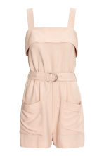 Playsuit - Light beige - Ladies | H&M 2