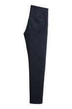 Cotton chinos Skinny fit - Dark blue - Men | H&M CN 3