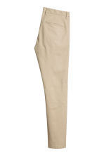 Chino en coton Skinny fit - Beige - HOMME | H&M FR 3