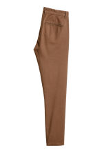 Cotton chinos Skinny fit - Dark camel - Men | H&M CN 3