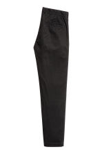 Cotton chinos - Black - Men | H&M CA 3