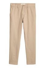Cotton chinos - Beige - Men | H&M 2