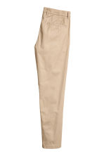 Cotton chinos - Beige - Men | H&M 3