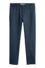 Katoenen chino - Donkerblauw - HEREN | H&M BE 2