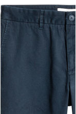 Cotton chinos - Dark blue - Men | H&M 4