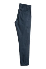 Cotton chinos - Dark blue - Men | H&M 3