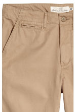 Cotton twill chinos - Beige - Men | H&M CN 3