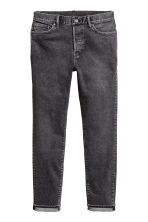 Relaxed Skinny Jeans - Mörkgrå washed out - HERR | H&M FI 2