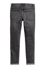 Relaxed Skinny Jeans - Mörkgrå washed out - HERR | H&M FI 3