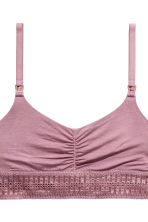 2-pack soft nursing bras - Purple - Ladies | H&M 4