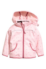 Softshell jacket - Light pink/Heart - Kids | H&M CA 2