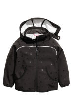 Softshell jacket - Black/Heart - Kids | H&M 2
