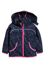 Softshell jacket - Dark blue/Stars -  | H&M CN 2