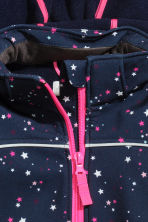 Softshell jacket - Dark blue/Stars -  | H&M CN 3